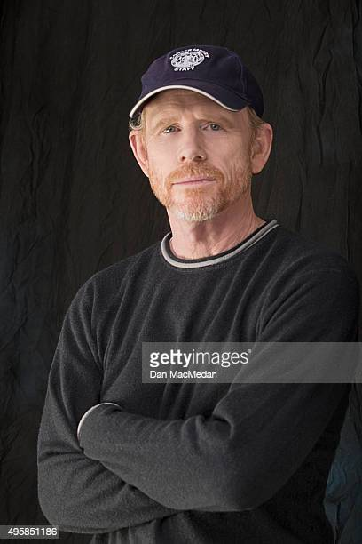 Director Ron Howard is photographed for USA Today on October 26 2015 in Los Angeles California