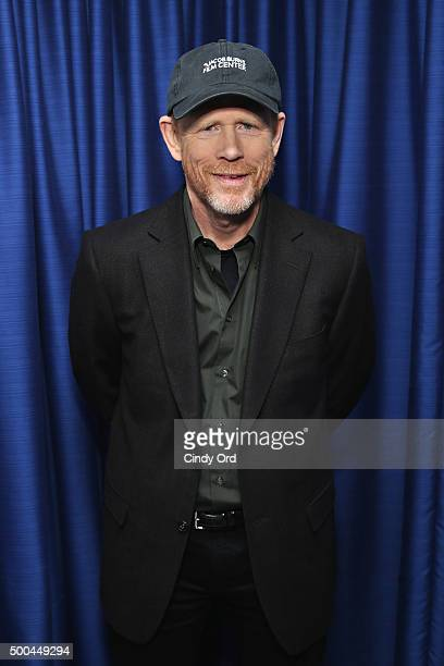 Director Ron Howard takes part in SiriusXM's 'Town Hall' with Ron Howard hosted by Entertainment Weekly's Clark Collis at SiriusXM Studios on...
