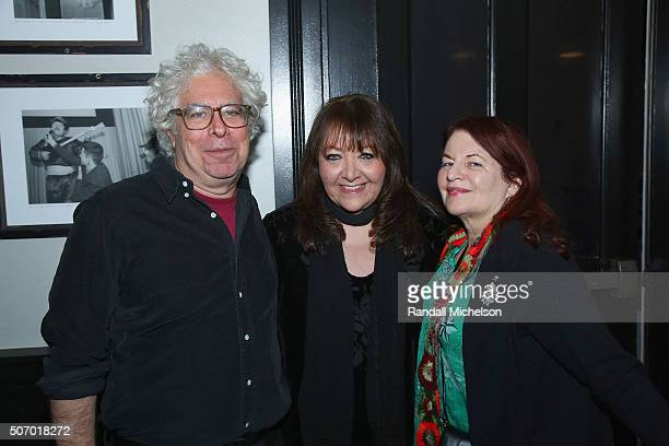 Director Ron Mann BMI Film and TV Music Executive Doreen RingerRoss and director Allison Anders attend the BMI Zoom dinner at Zoom Restaurant on...