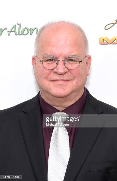 """Director Ronnie Michael attends the premiere of the film """"Never Alone"""" at Arena Cinelounge on October 04, 2019 in Hollywood, California."""