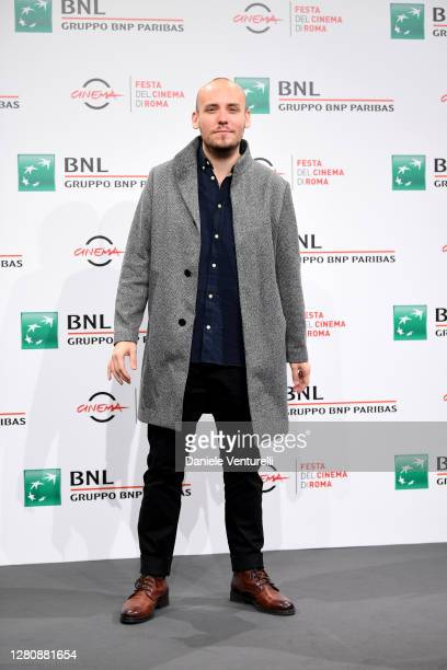 Director Ronnie Sandahl attends the photocall of the movie Tigers during the 15th Rome Film Festival on October 18 2020 in Rome Italy