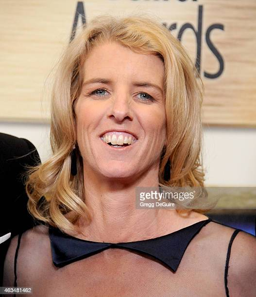 Director Rory Kennedy arrives at the 2015 Writers Guild Awards LA Ceremony at the Hyatt Regency Century Plaza on February 14 2015 in Los Angeles...