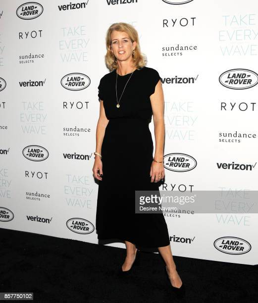 Director Rory Kennedy attends 'Take Every Wave The Life Of Laird Hamilton' New York Premiere at The Metrograph on October 4 2017 in New York City