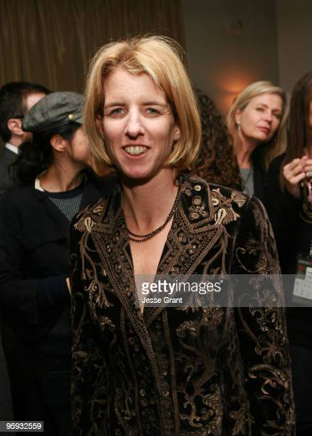 Director Rory Kennedy attends the 2010 Absolut/CAA Party at Easy Street Restaurant on January 19 2010 in Park City Utah