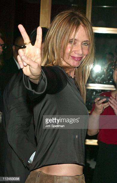 Director Rosanna Arquette during 'Searching For Debra Winger' Screening Hosted by InStyle Outside Arrivals at Bryant Park Screening Room in New York...