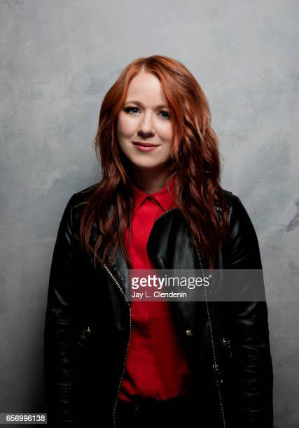 Director Roxanne Benjamin from the film XX is photographed at the 2017 Sundance Film Festival for Los Angeles Times on January 22 2017 in Park City...