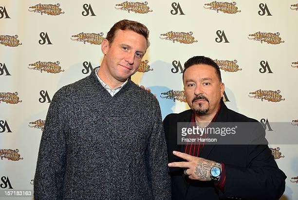 Director Ruben Fleischer and Mister Cartoon arrive at SA Studios and Mister Cartoon VIP Screening and After Party of Warner Brothers Pictures...