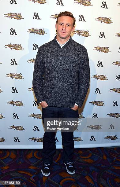"""Director Ruben Fleischer, arrives at SA Studios and Mister Cartoon VIP Screening and After Party of Warner Brothers Pictures """"Gangster Squad"""" at La..."""