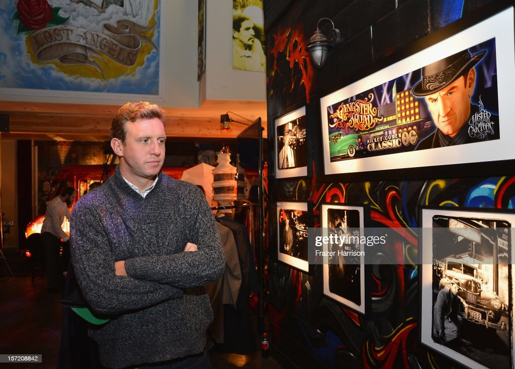 Director Ruben Fleischer attends SA Studios and Mister Cartoon VIP Screening and After Party of Warner Brothers Pictures 'Gangster Squad' at SA Studios on November 29, 2012 in Los Angeles, California.