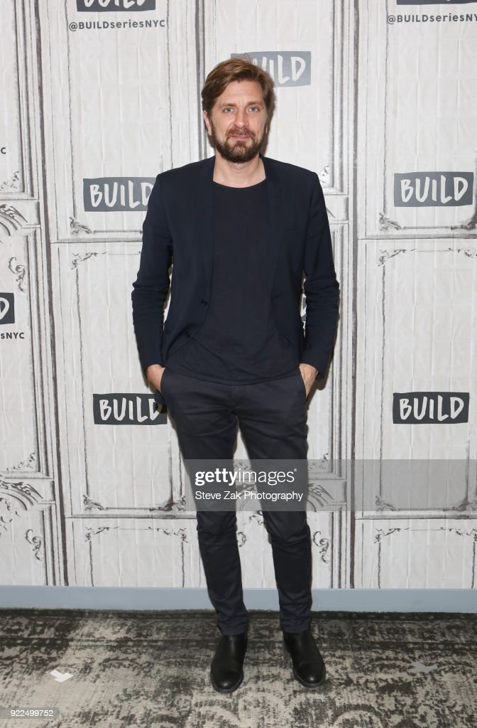 Director Ruben Ostlund attends Build Series to discuss his new movie 'The Square' at Build Studio on February 21, 2018 in New York City.