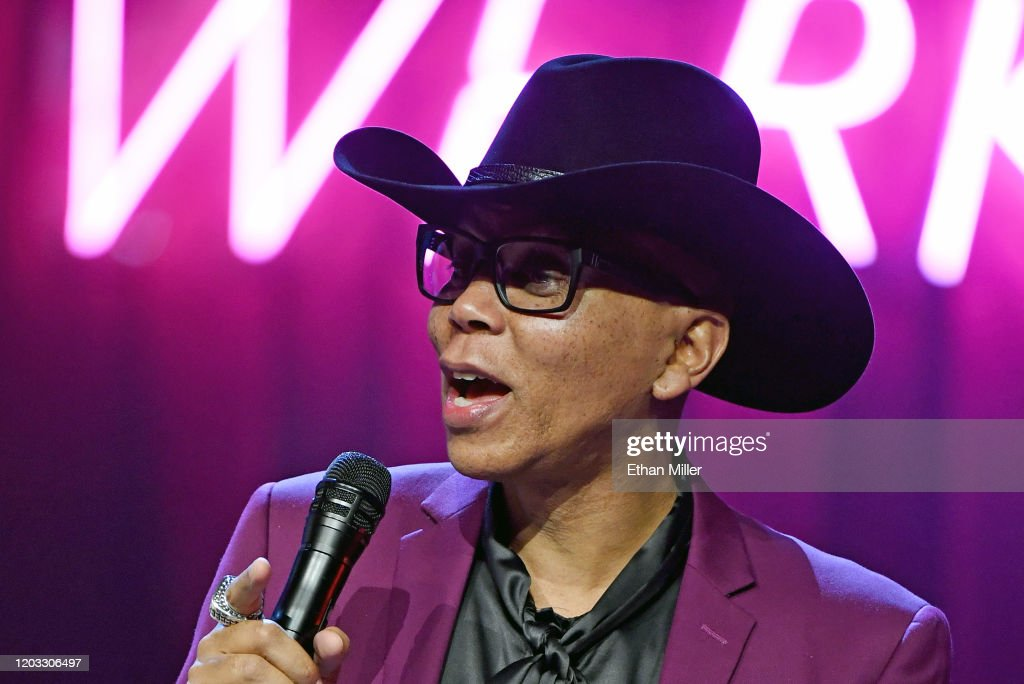 """""""RuPaul's Drag Race Live!"""" World Premiere - News Conference : News Photo"""