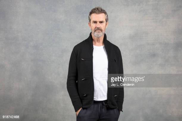 Director Rupert Everett from the film 'The Happy Prince' is photographed for Los Angeles Times on January 21 2018 in the LA Times Studio at Chase...