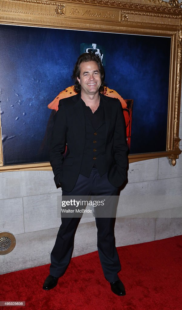 Director Rupert Goold attends the Broadway opening night performance of 'King Charles III' at the Music Box Theatre on November 1, 2015 in New York City.