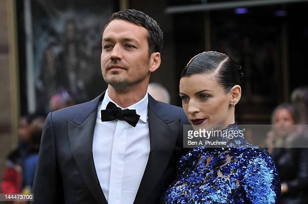 Director Rupert Sanders and Liberty Ross attend the World Premiere of 'Snow White And The Huntsman' at The Empire and Odeon Leicester Square on May...