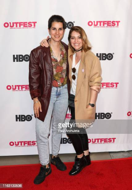 Director Ruth Caudeli and Actress Silvia Varon attend the screening of Second Star On The Right at the 2019 Outfest Los Angeles LGBTQ Film Festival...