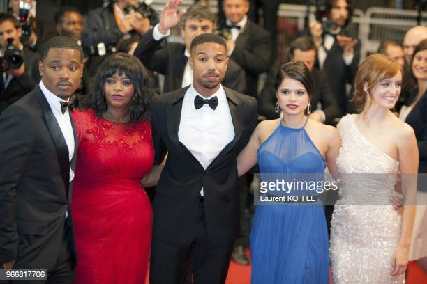 Director Ryan Coogler, actress Octavia Spencer, actor Michael B. Jordan and actresses Melonie Diaz and Ahna O'Reilly attend the 'Fruitvale Station'...