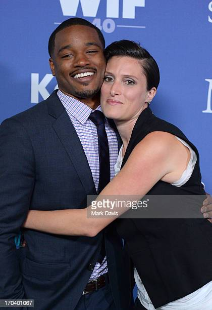 Director Ryan Coogler and cinematographer Rachel Morrison attend Women In Film's 2013 Crystal Lucy Awards at The Beverly Hilton Hotel on June 12 2013...