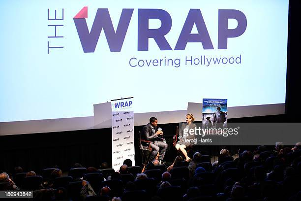 Director Ryan Coogler and TheWrap's Sharon Waxman participates in TheWrap's Awards and Foreign Screening Series 'Fruitvale Station' at the Landmark...