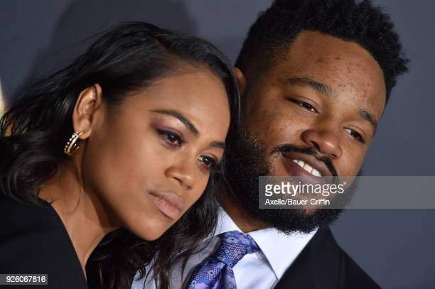 Director Ryan Coogler and Zinzi Evans arrive at the premiere of Disney's 'A Wrinkle In Time' at El Capitan Theatre on February 26 2018 in Los Angeles...