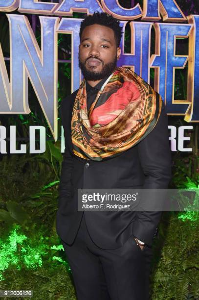 Director Ryan Coogler at the Los Angeles World Premiere of Marvel Studios' BLACK PANTHER at Dolby Theatre on January 29 2018 in Hollywood California