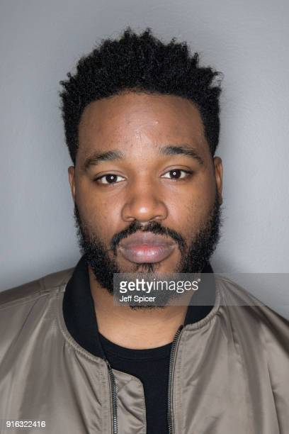 Director Ryan Coogler attends the 'Black Panther' BFI preview screening held at BFI Southbank on February 9 2018 in London England