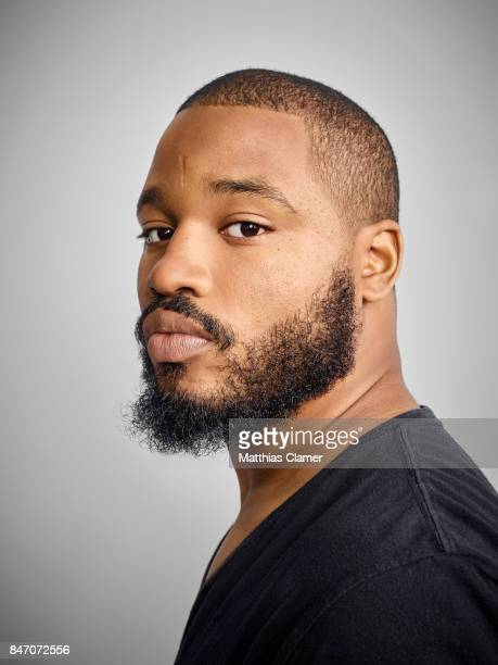 Director Ryan Coogler from 'Black Panther' is photographed for Entertainment Weekly Magazine on July 23 2016 at Comic Con in the Hard Rock Hotel in...