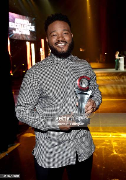 Director Ryan Coogler recipient of the Director of the Year award attends the CinemaCon Big Screen Achievement Awards brought to you by the CocaCola...