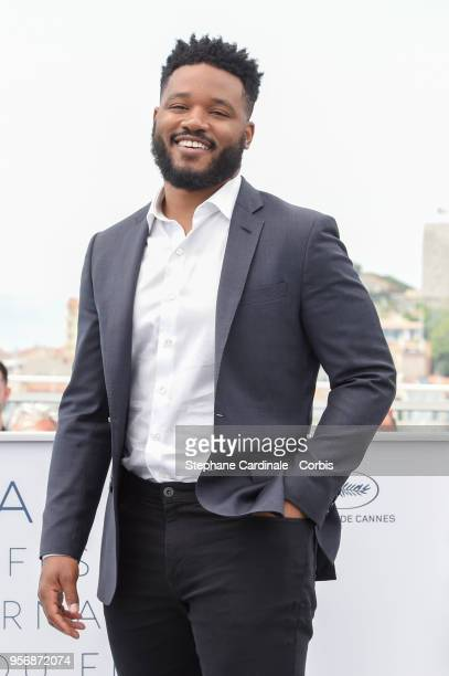 Director Ryan Coogler speaks at the RendezVous session during the 71st annual Cannes Film Festival at Palais des Festivals on May 10 2018 in Cannes...