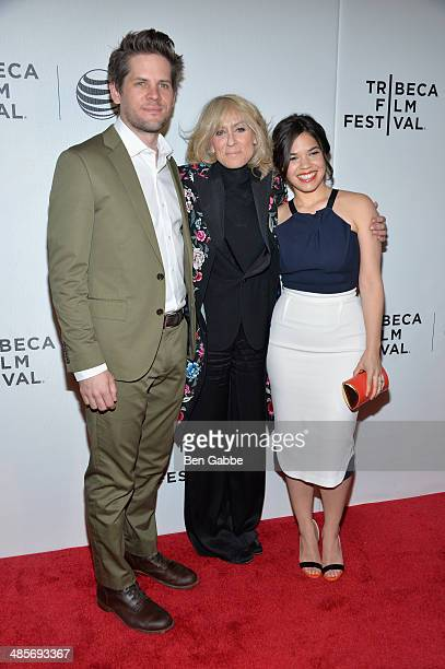 Director Ryan Piers Williams Judith Light and actress/producer America Ferrera attend the 'X/Y' Premiere during the 2014 Tribeca Film Festival at...