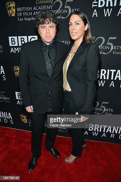 Director Sacha Gervasi and Jessica de Rothschild arrive at the 2012 BAFTA Los Angeles Britannia Awards Presented By BBC AMERICA at The Beverly Hilton...