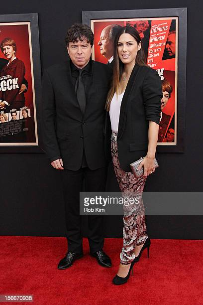 Director Sacha Gervasi and Jessica de Rothschild attend the Hitchcock premiere at the Ziegfeld Theater on November 18 2012 in New York City