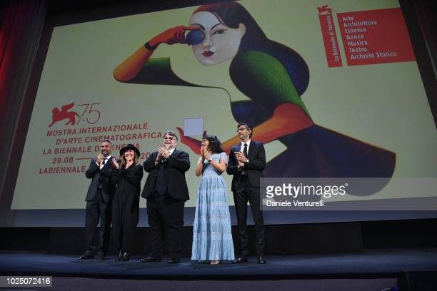 Director Salvatore Mereu Orizonti jury president Athina Tsangari Official Competition jury president Guillermo Del Toro Venice Virtual Reality...