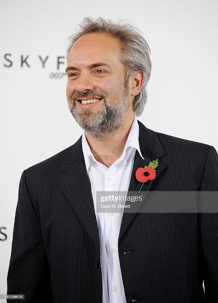 Director Sam Mendes attends a photocall with cast and filmmakers to mark the start of production which is due to commence on the 23rd Bond Film and announce the title of the film as 'Skyfall' at Massimo Restaurant & Oyster Bar on November 3, 2011 in London, United Kingdom.