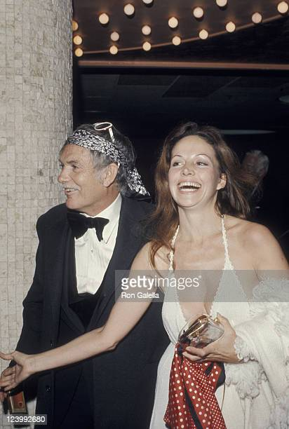 Director Sam Peckinpah and date attend Second Annual American Film Institute Lifetime Achievement Awards Honoring James Cagney on March 13 1974 at...