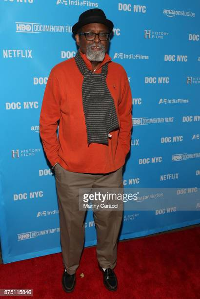 Director Sam Pollard attends the 2017 DOC NYC World Premiere of 'Maynard' at IFC Center on November 16 2017 in New York City