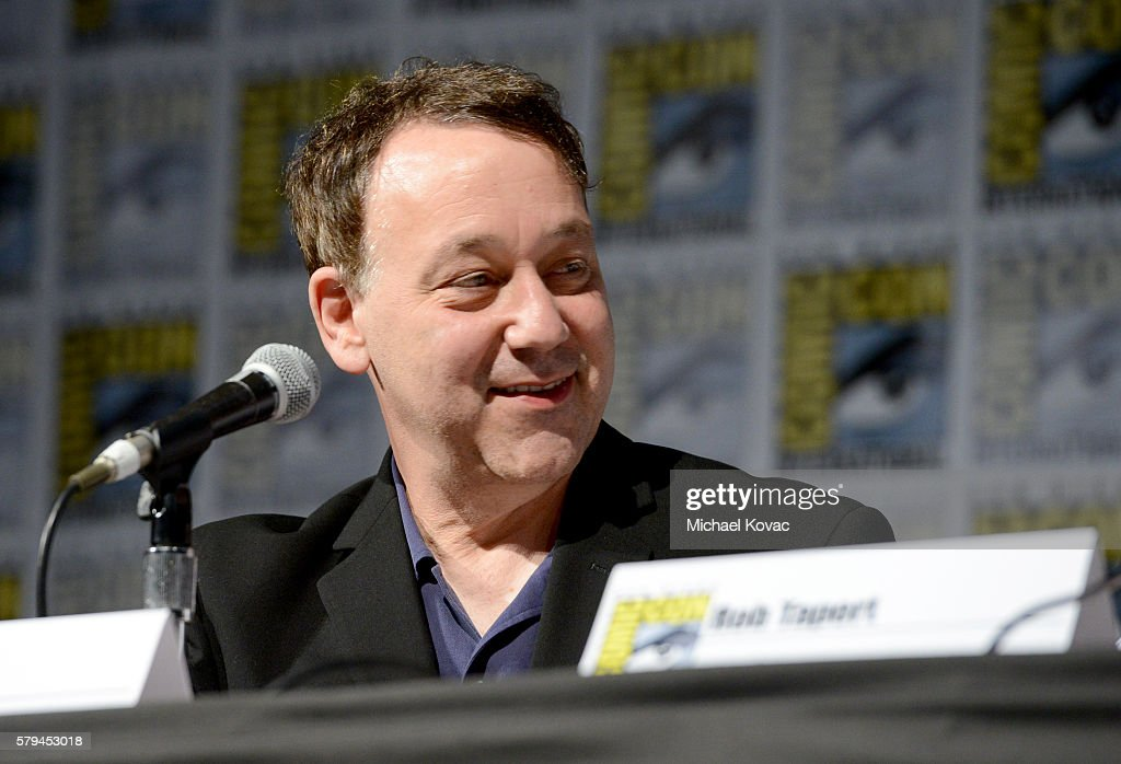 Director Sam Raimi speaks on stage during the 'Ash vs Evil Dead' panel during Comic-Con International at the San Diego Convention Center on July 23, 2016 in San Diego, California.