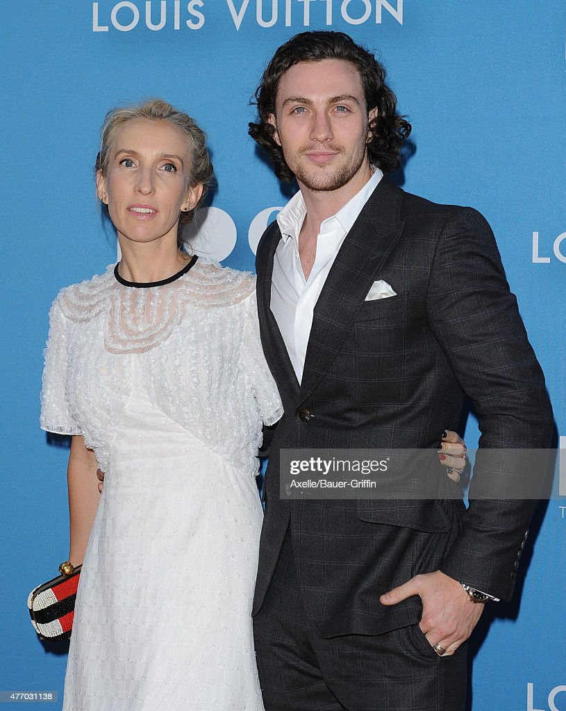 Director Sam Taylor-Johnson and actor Aaron Taylor-Johnson attend the 2015 MOCA Gala at The Geffen Contemporary at MOCA on May 30, 2015 in Los Angeles, California.