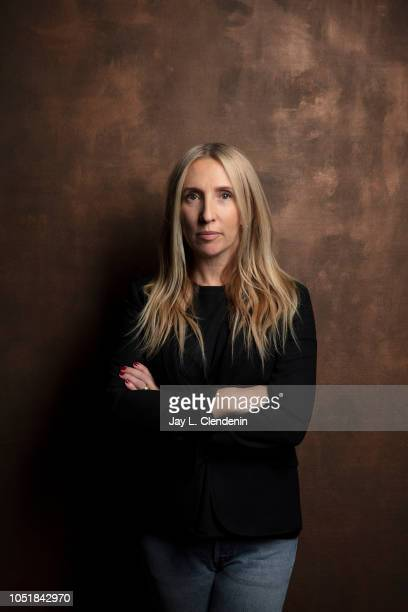 Director Sam Taylor-Johnson, from 'A Million Little Pieces' is photographed for Los Angeles Times on September 10, 2018 in Toronto, Ontario....