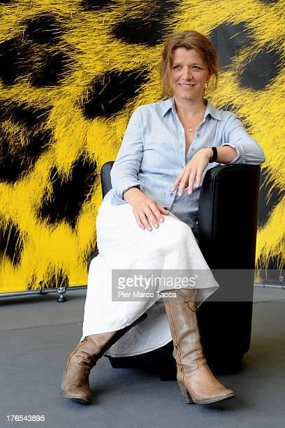 Director Sandra Nettelbeck attends 'Mr Morgan Last Love' photocall during the 66th Locarno Film Festival on August 15 2013 in Locarno Switzerland