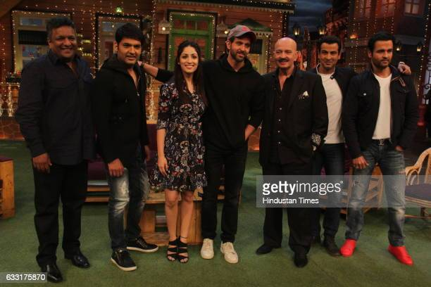Promotion Of Film Kaabil On The Sets Of The Kapil Sharma Show