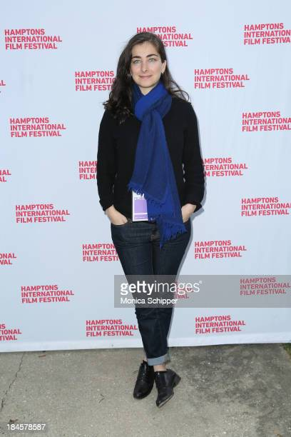 Director Sara Zandieh attends the 21st Annual Hamptons International Film Festival Closing Day on October 14, 2013 in East Hampton, New York.