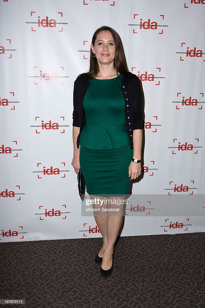 Director Sarah Burns attends the 2012 IDA Documentary Awards at Directors Guild Of America on December 7, 2012 in Los Angeles, California.