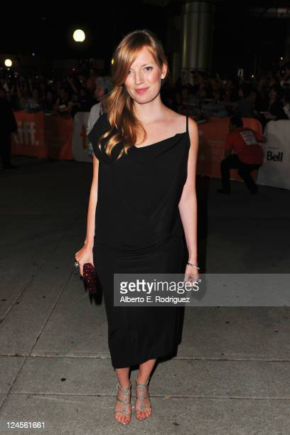 Director Sarah Polley arrives at 'Take This Waltz' Premiere at Roy Thomson Hall during the 2011 Toronto International Film Festival on September 10...