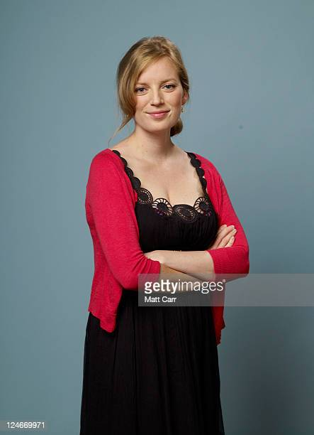 Director Sarah Polley of 'Take This Waltz' poses during the 2011 Toronto Film Festival at Guess Portrait Studio on September 11 2011 in Toronto Canada