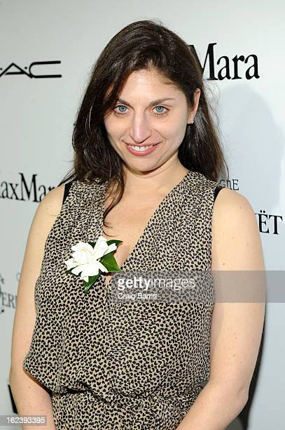 DIrector Sari Gilman attends the 6th Annual Women In Film PreOscar Party hosted by Perrier Jouet MAC Cosmetics and MaxMara at Fig Olive on February...
