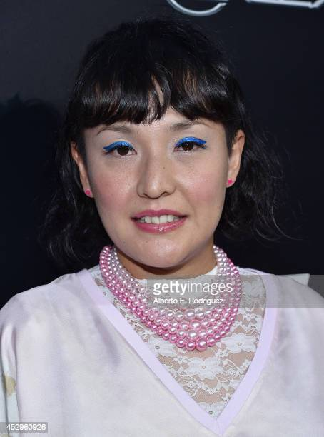 Director Satsuki Okawa arrives to The Weinstein Company and Lexus Present Lexus Short Films at The Regal Cinemas LA Live on July 30 2014 in Los...