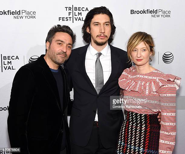Director Saverio Costanzo actor Adam Driver and actress Alba Rohrwacher attend the premiere of Hungry Hearts during the 2015 Tribeca Film Festival at...