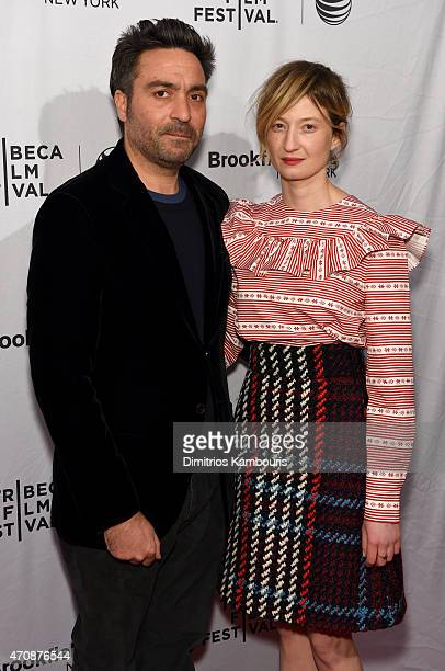 Director Saverio Costanzo and actress Alba Rohrwacher attend the premiere of Hungry Hearts during the 2015 Tribeca Film Festival at the SVA Theater...