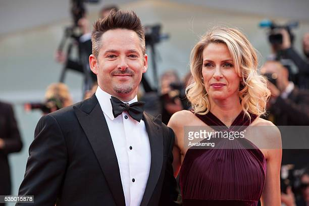 Director Scott Cooper and Jocelyne Cooper attend the preview of the movie 'Black Mass' on Sept 4 2015 during the 72nd Venice Cinema Festival in...