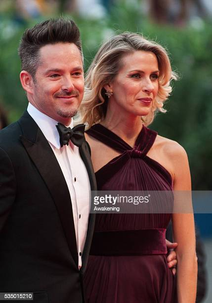 Director Scott Cooper and Jocelyne Cooper attends a premiere for 'Black Mass' during the 72nd Venice Film Festival on september 4 2015 in Venice Italy